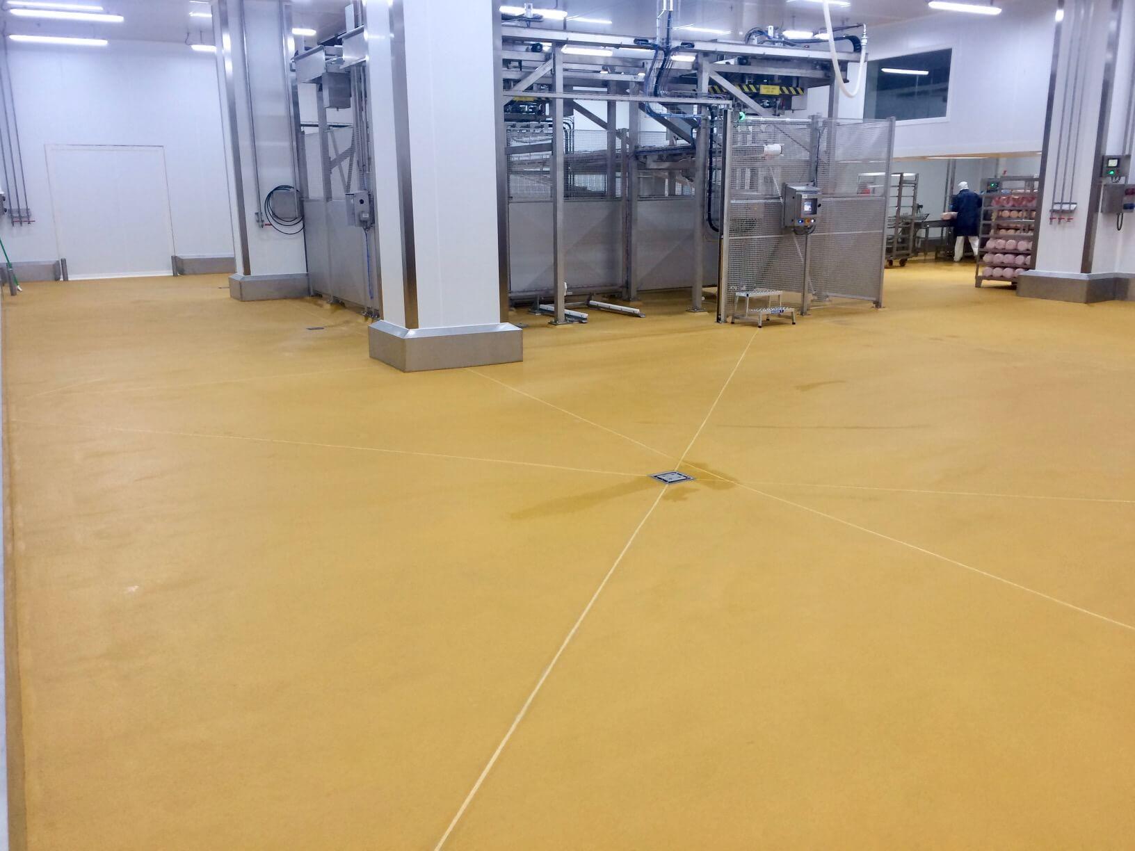 sol industriel agroalimentaire Monile® et Monopur® Industry Antimicrobien