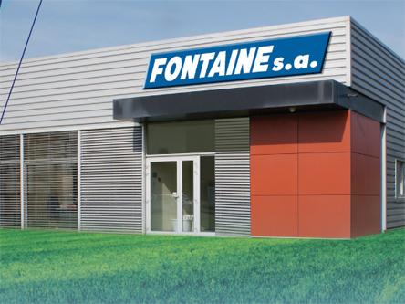 Fontaine S.A. spécialiste de la réalisation de revêtements de sols industriels et agroalimentaires