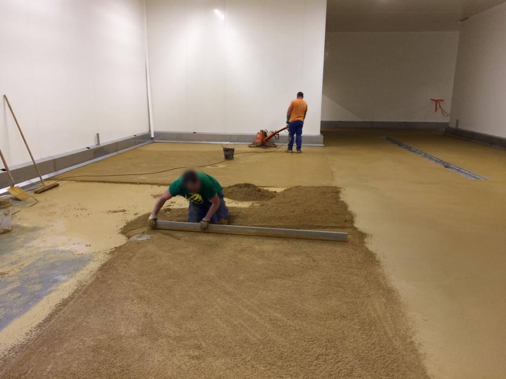 revêtement de sol industriel agroalimentaire Acrylique Monile ®